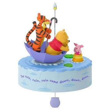 Winnie the Pooh A Blustery Day Musical Ornament With Motion