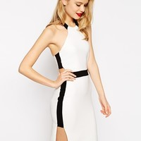 ASOS Halter Cut Out Pencil