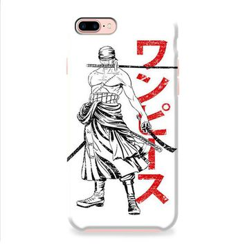 Zoro Pirate Hunter One Piece Anime iPhone 8 | iPhone 8 Plus Case
