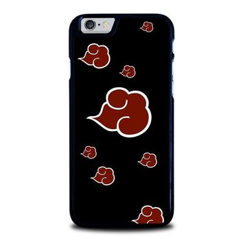 naruto akatsuki clouds iphone 6 6s case cover  number 1
