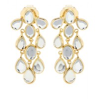 mytheresa.com - Cascade gold-plated earrings - current week - new arrivals - Luxury Fashion for Women / Designer clothing, shoes, bags