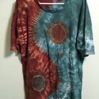 UPCYCLED Tie Dye Shirt • Yin Yang • 2 colors • Made to Order