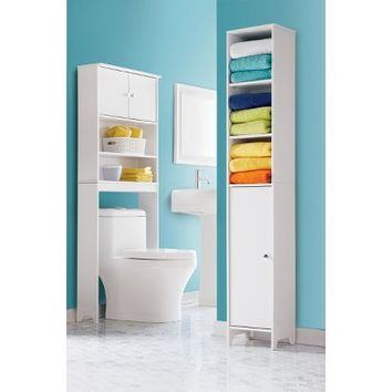 Room Essentials® Over Toilet Etagere - White