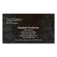 Moody Dark Abstract Pattern Double-Sided Standard Business Cards (Pack Of 100)