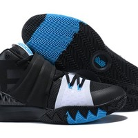 """Nike Kyrie S1Hybrid """"What The"""" Black/White/Blue Basketball Shoes US7-12"""
