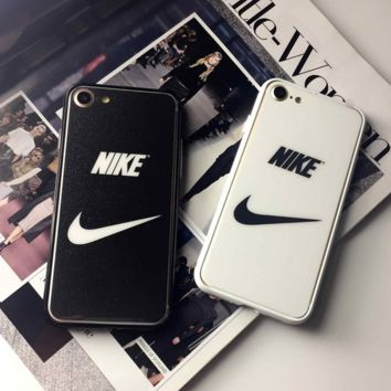 7 steel membrane nike iphone6 plus full-screen coverage phone membrane 4.7 before and after 5S