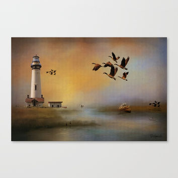 Homeward Bound Canvas Print by Theresa Campbell D'August Art