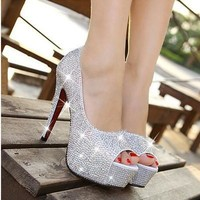 Jennifer Full Glitter Pumps