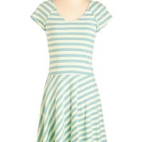 ModCloth Eco-Friendly Mid-length Short Sleeves A-line Effortless Charm Dress