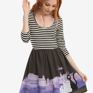 Studio Ghibli Kiki's Delivery Service Striped Top Dress