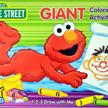Oversize Sesame Street Activity Book
