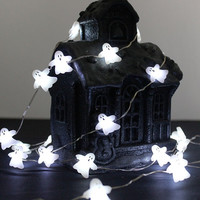 LED Halloween Spooky Ghost String Lights