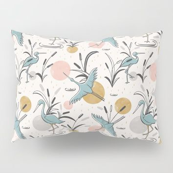 Marshland Pillow Sham by heatherduttonhangtightstudio