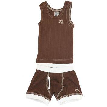 Skivvies Set - Brown