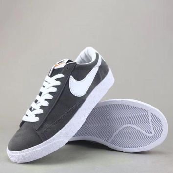 Wmns Nike Blazer Mid Sde Fashion Casual Low-Top Old Skool Shoes