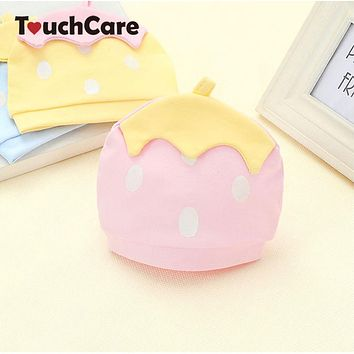 Autumn Winter Warm Cotton Baby Hat Cute Toddler Beanies Knitted Candy Color Caps For Children Newborn Children Accessories