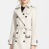 Women's Burberry London 'Buckingham' Double Breasted Trench Coat