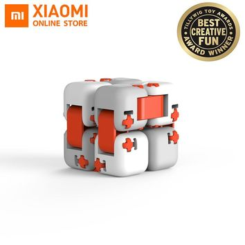 Original XiaoMi Mitu Finger Bricks Mi building Blocks Finger Spinner Gift For Kids Safety Portable Builder Smart Mini Toys