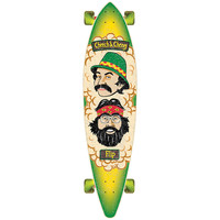 Flip Cheech and Chong Pin Tail Longboard Complete - 43.5