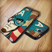 Captain america - iphone case cover- iPhone 4 / iPhone 4S / iPhone 5 / Samsung S2 / Samsung S3 / Samsung S4 Case Cover