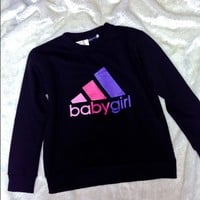 SWEET LORD O'MIGHTY! OG BABYGIRL SWEATER IN BLACK