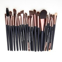 Professional 20 pcs Makeup Brush Set tools Make-up Toiletry Kit  Brand Make Up Brush Set Pincel Maleta De Maquiagem
