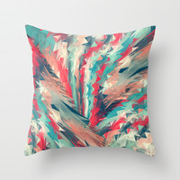 Hold On Throw Pillow by Danny Ivan