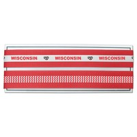 Legacy Athletic Wisconsin Badgers Stretch Ribbon Headband Set (Red)