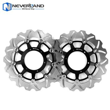 2pcs Front Brake Disc Rotor for Honda CB600F CB 600F HORNET / ABS CBR600F CBR 600F / ABS 2011-2013 Motorcycle