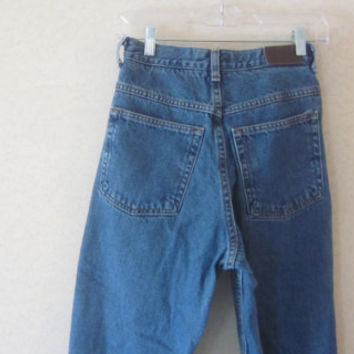 Vintage LL Bean Mom Jeans, High Waisted Jeans, Denim Blue Jeans, Womens 10 Petite,  High Waist 31, Elastic Waist, Hipster Jeans, 90s