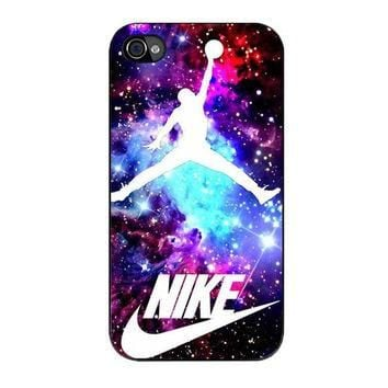 jordan nebula galaxy nike iPhone 4 4s 5 5s 5c 6 6s plus cases