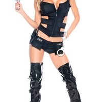 Sexy Sheriff Costume Set
