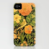 Floral Bird iPhone Case by Frank Vice   Society6