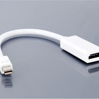 Mini Display Port to HDMI TV Monitor Adapter for Apple Macbook (White)