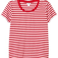 Sine striped tee | Tops | Monki.com