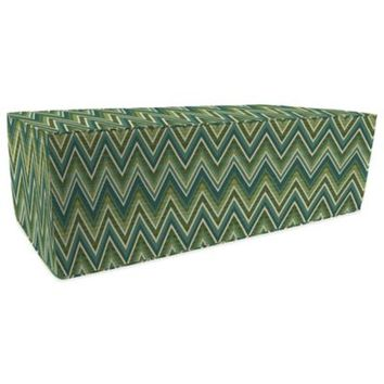SUNBRELLA® Outdoor Double Pouf Ottoman