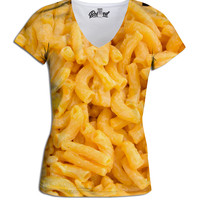 Mac N' Cheese Women's  V-Neck Tee