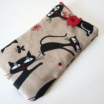 Sony Xperia Z3 Cover / Galaxy S5 Case / Galaxy Note 4 Case / Galaxy S6 Sleeve / HTC One 8X / Moto G Sleeve / LG G3 / LG G4 - Cats