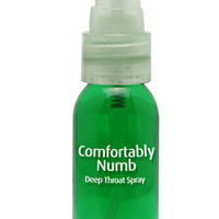Pipedream Products Comfortably Numb Deep Throat Spray  Spearmint