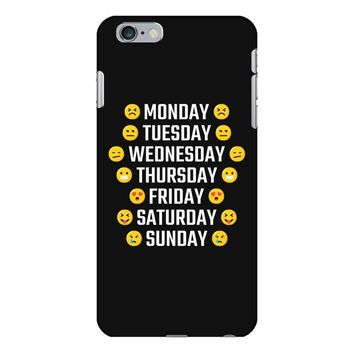 Moods Of The Week Daily Emoji iPhone 6 Plus/6s Plus Case
