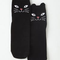 Cats Across Your Path Socks by ModCloth