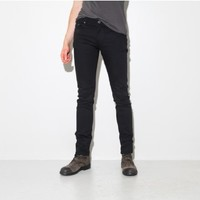 wonhundred dean slim jean black Oak