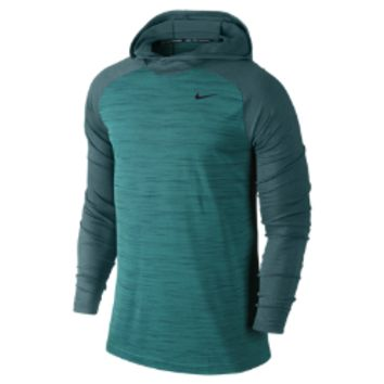 Nike Dri-FIT Touch Men's Training Hoodie Size XL (Green)