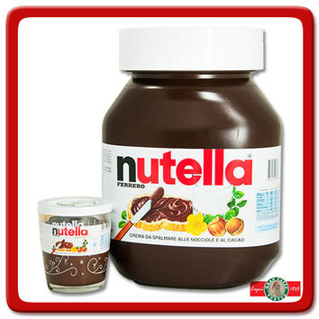 Ferrero Giant Nutella - Made in Italy - 11 Lbs Canister : Gran Caffe Vuotto, Inc., The Taste of Italian Coffee