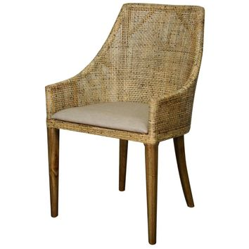 Minorca Rattan Side Chair BEIGE