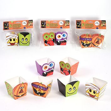 Mini Halloween Treat Boxes - 72 Units