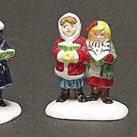 "Department 56 Snow Village ""Here We Come A'Caroling"" (Set of 3)"
