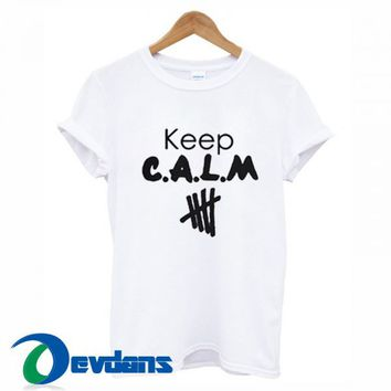 Keep Calm 5 Seconds Of Summer T Shirt For Women and Men
