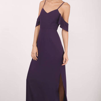 Romantic Off Shoulder Maxi Dress