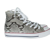 Custom Python High Top Chuck Taylors